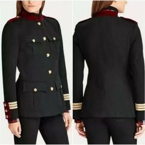 Ralph Lauren Jacket Military Army Officer black